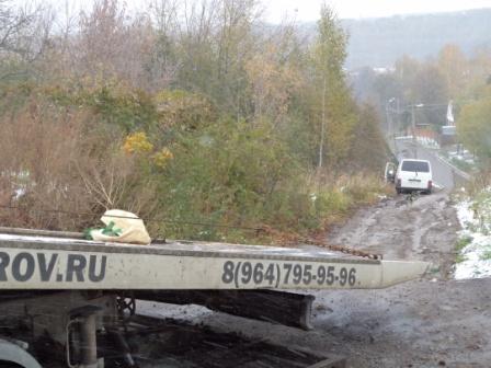 буксировка из кювета в Дмитрове